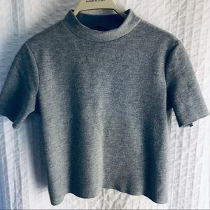 Zara highneck top